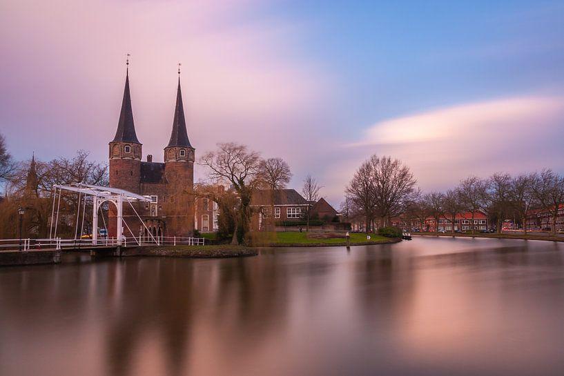 Oost poort van Delft van Ilya Korzelius