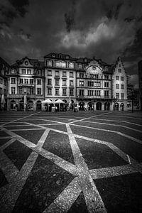 Marktplein, Mainz van Jens Korte