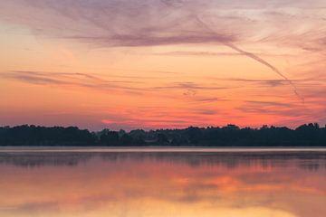 Colorful Twilight Reindersmeer van William Mevissen