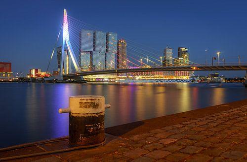 Erasmusbrug by night van