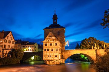 Brückenrathaus in Bamberg van Jan Schuler