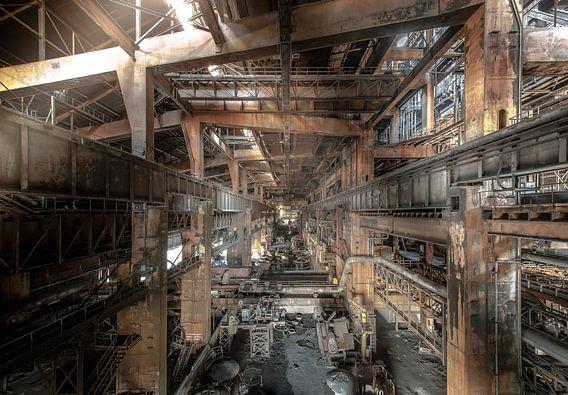 Staalfabriek Urbex van Olivier Van Cauwelaert