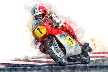 Giacomo Agostini von Theodor Decker