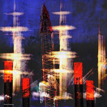Hafenimpression_kreativ_1a von Manfred Rautenberg Photoart