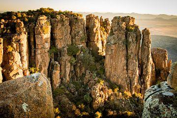 Ruige bergen in Zuid-Afrika van