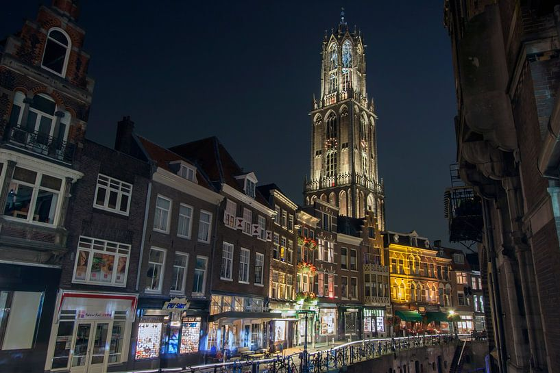 Vismarkt in Utrecht van Patrick van Oostrom
