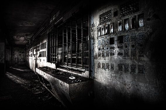 Verlaten sinter fabriek van Eus Driessen