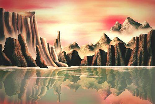 Mars Landschap van