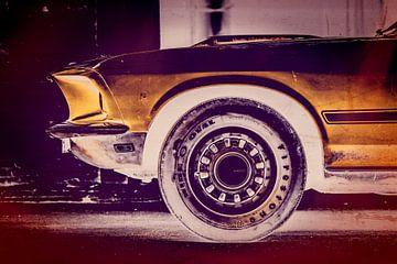 69 Mustang MACH 1 van Aron Nijs