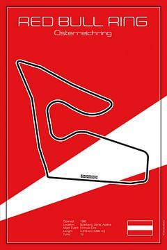 Racetrack Spielberg van Theodor Decker