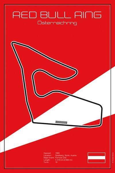 Racetrack Spielberg von Theodor Decker