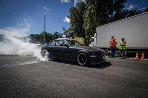 E36 Burnout. van