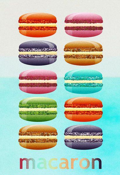 Macarons van Bright Designs