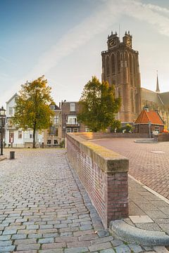 Onze-Lieve-Vrouwe-kerk te Dordrecht van Jan Koppelaar