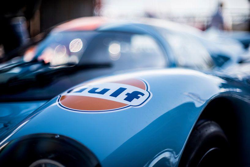 details of the Le Mans Porsche Gulf 02 van Arjen Schippers