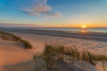 Zonsondergang Texel van Anthony Trabano