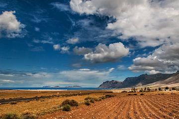 Risco de Famara, Lanzarote van Harrie Muis