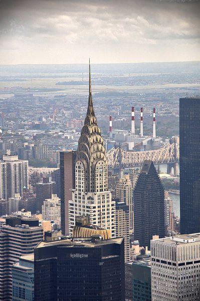 Chrysler Building New York van Tineke Visscher