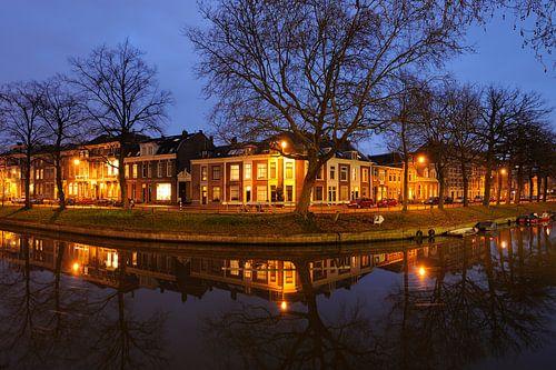 Weerdsingel Oostzijde in Utrecht ter hoogte van de Begijnekade von Donker Utrecht