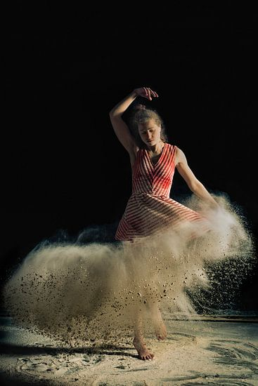 Flour dress...