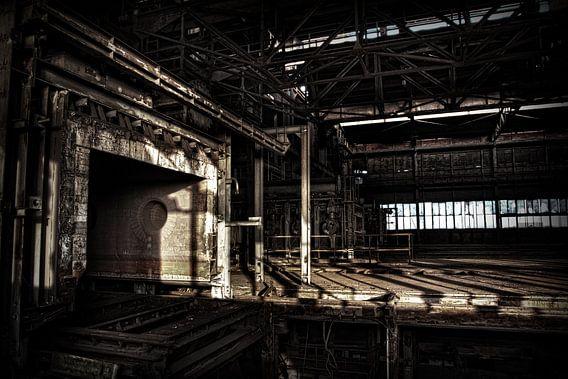 Leegstaande sinterfabriek