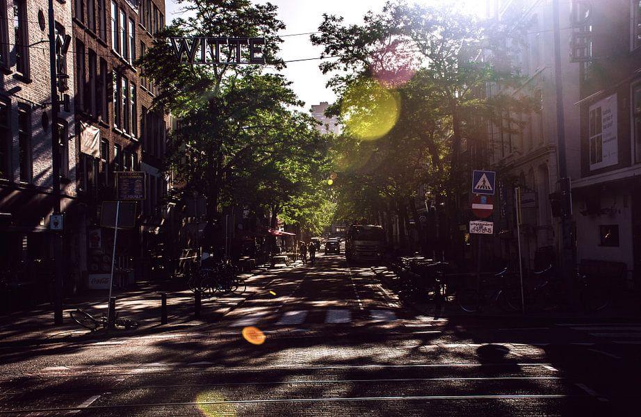 Zomers sfeertje in Rotterdam van Godelieve Luijk