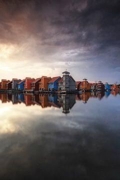 De regenbooghuisjes, Groningen sur