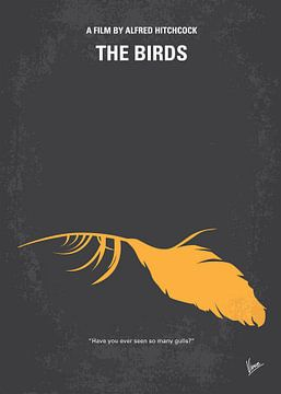 No110 My Birds minimal movie poster van Chungkong Art