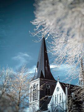 Sint Lambertus kerk Beers #1 van Lex Schulte