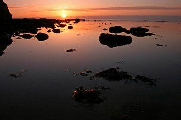 zonsondergang Helgoland sur Antwan Janssen
