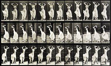oben ohne tanzende Frau von Atelier Liesjes