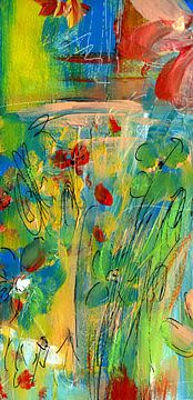 Fleur d'amour 11 sur Claudia Gründler