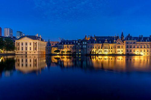 Het Binnenhof - hofvijver van Henri Witteveen