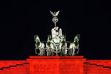 Quadriga auf dem Brandenburger Tor von Frank Herrmann