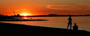 zonsondergang beauty van Marika Rentier