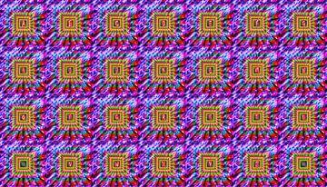 Alfabet nr.19 in kleur van Leopold Brix