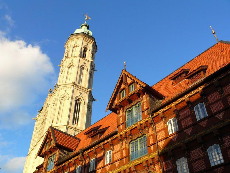 Die Alte Waage vor der Andreaskirche van Ralf Schroeer