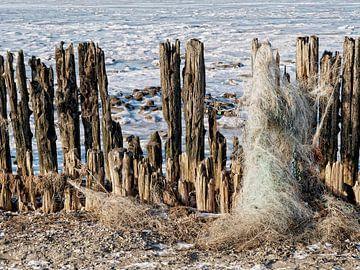 Fishing net von Harrie van der Meer