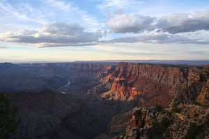 Uitzicht over de Grand Canyon van Anouk Davidse