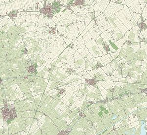 Kaart van Loppersum