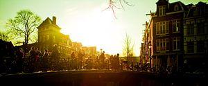 Amsterdam, Prinsengracht van Stewart Leiwakabessy
