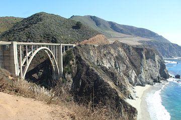 Highway 1 Verenigde Staten van Berg Photostore