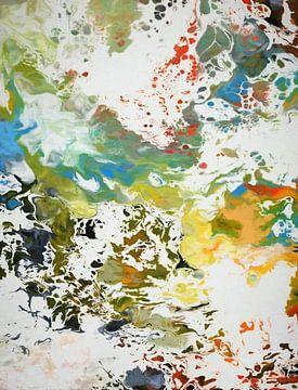 Abstracte samenstelling 1022 van Angel Estevez