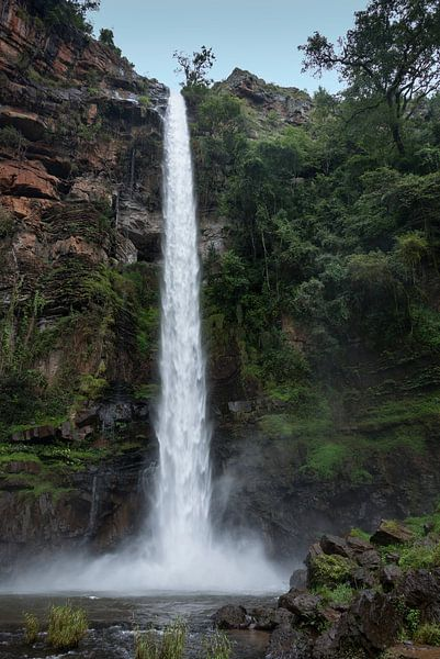 lone creek falls waterfall near Sabie van Compuinfoto .