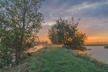 Beginnen de Herfst in de Polder van Rossum-Fotografie