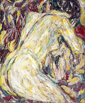 Künstlerischer Akt, Christian Rohlfs - 1911 von Atelier Liesjes