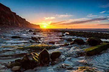 Sunset Cap Blanc-Nez van Hans Vellekoop
