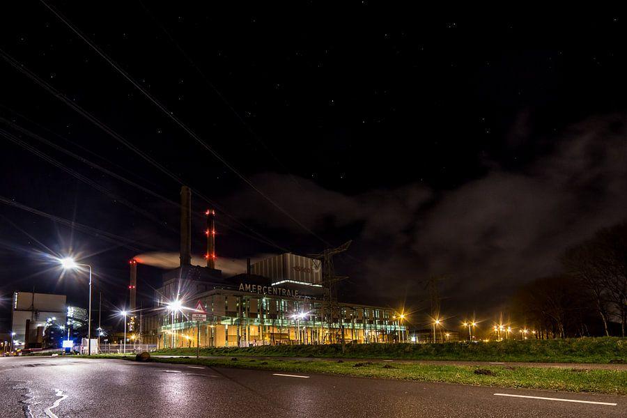 Geertruidenberg in het donker: Amercentrale
