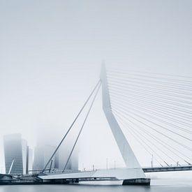 Rotterdam in de mist van Martijn Kort