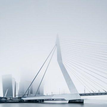 Rotterdam in de mist van